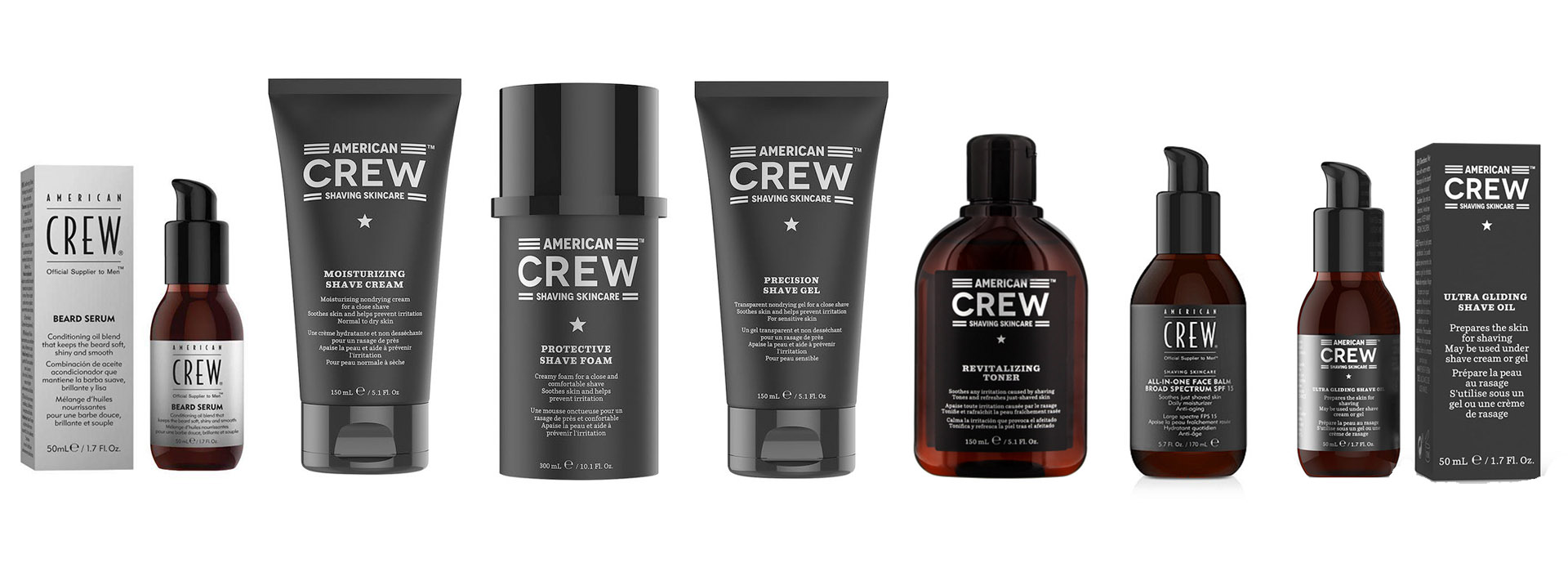 The Mens Room stocks American Crew products